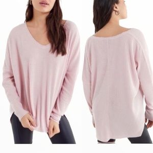 URBAN OUTFITTERS Out From Under Cozy Thermal Top Pink Size Small